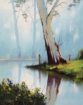 Misty River Gum by artsaus