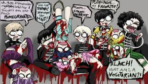 MCR eating TMM by Chocoreaper