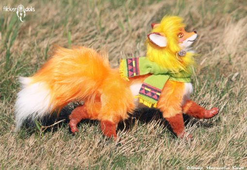 Red Fox by Flicker-Dolls