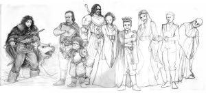 Game of Thrones sketch 1 by Ude2d2