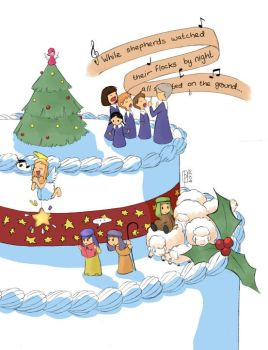 Christmas Cake by tammytee