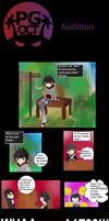 PG: Audition Pg 1 INTRO by V-nya