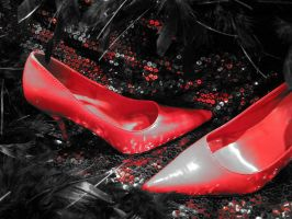 """""""Put on your red shoes..."""" by ThreeRingCinema"""