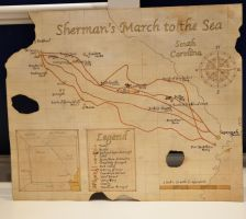 Shermans March to the Sea Map by Dioxim