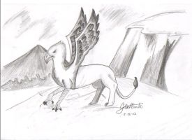 Hippogriff...thing by Thalionrin