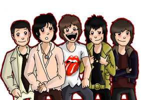 The Rolling Stones by EVIE128