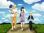 Family Walk by KaSaKu