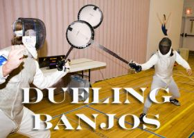 Dueling Banjos by OlzowBroProductions