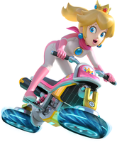 Peach Mario Kart 8 by chow11