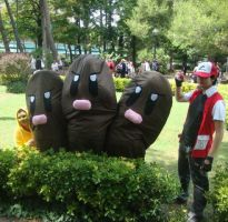 .:Dugtrio Cosplay (Pokemon):. by RedChaos-90