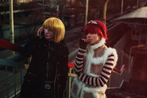 Cosplay: Mello and Matt #3 by pollypwnz
