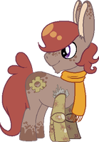 Donkey Pony Adoptable - CLOSED by FLU0URITE