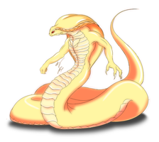 Naga Albino Cobra 'Kian' by GunZcon