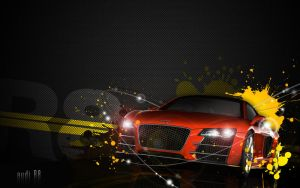 audi r8 by archidisiac