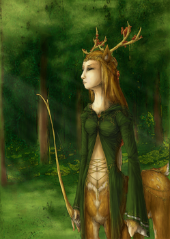 Protector of the Forest - Step 3 by EmiXNaru