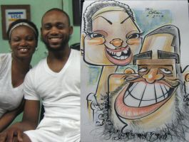 caricature- smile mctoof 08 by chrisCHUA