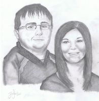 My Friend and her fiance by Narzaria