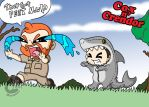 CrenShark ATTACK! THEY GOT FEET NOW! by Chibi-Warmonger