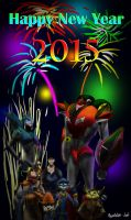Happy New Year 2015 by Playstation-Jedi