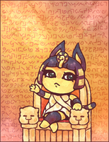 Animal Crossing: Ankha by Cavea