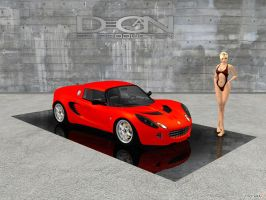 Lotus Elise by DecanAndersen