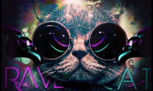 Rave Cat by SoMini