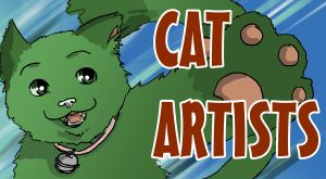 Group Logo for Cat Artists by MsCyberBird