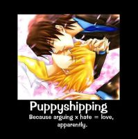 Puppyshipping - Alys' POV by Stickorockable