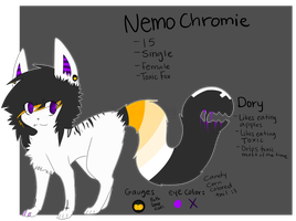 Halloween Nemo and Dory Ref c: by batskies