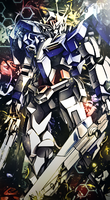 Gundam 00 Raiser by DomiNico20