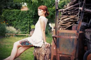 Her wooden leg by Basistka