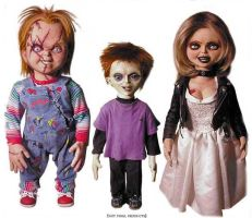 Chucky, Tiffany and Glen by Chucky15072009