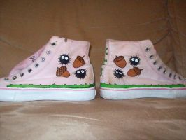Totoro Shoes otherside by DemoiselleDreamer