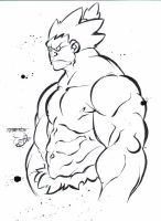 AKUMA : Tebin's lines _ my ink by E-9