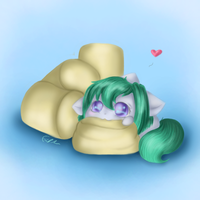 Marshmallow Noms by SpectralPony