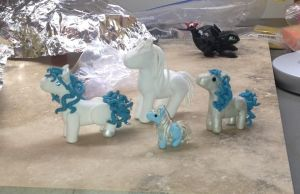 OLD ponies - can't believe I found these! by ArtisanAlley