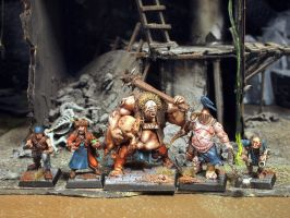 Mordheim Hired Swords by Nordic-Dragon