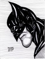 Batman Dark Knight Returns pen:markers 11-17-2013 by myconius