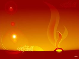 Diwali wallpaper Greeting by rjthakur