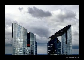 Glass Towers by Luke-ro