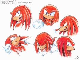 Knuckles (concept art) by Liris-san