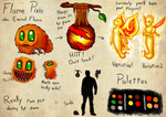 Espial World Design Challenge: Flame Pixie by Lazy-a-Ile