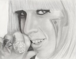 Lady Gaga by FromPencil2Paper