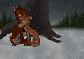 {WoBS} Dont You Worry Child - The Snowstorm by cat-whiskerss