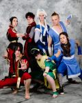 Avatar the last airbender serie by SniperSunny
