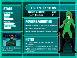 Young Justice OC Green Lantern by RainVongola