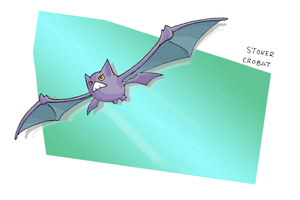 Number 169 - CROBAT by Skyblufox