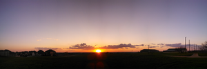Panorama 03-29-2015A, sunset filter by 1Wyrmshadow1