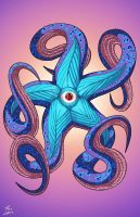 Starro (Earth-27) commission by phil-cho