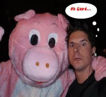 Zak and Piggy by ghostadventuresgirl